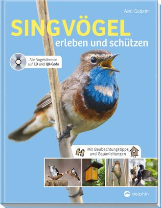 """Cover des Buches """"Singvögel erleben und schützen"""""""