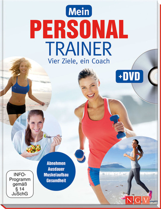 """Cover des Buches """"Mein Personal Trainer + DVD"""""""