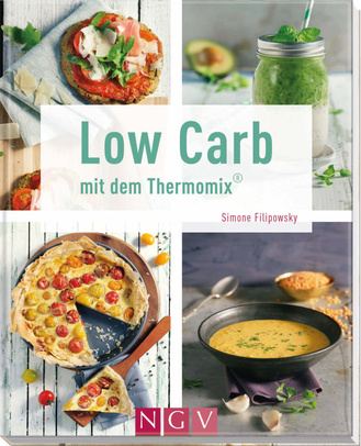 """Cover des Buches """"Low Carb mit dem Thermomix® """""""