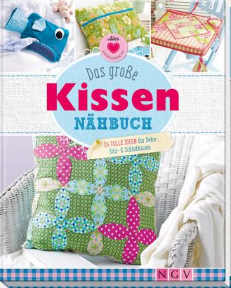 """Cover des Buches """"Das große Kissen-Nähbuch"""""""