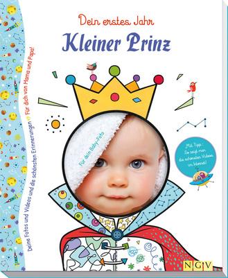 """Cover des Buches """"Kleiner Prinz - Babyalbum für Jungen"""""""