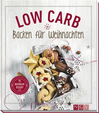 """Cover des Buches """"Low Carb - Backen für Weihnachten"""""""