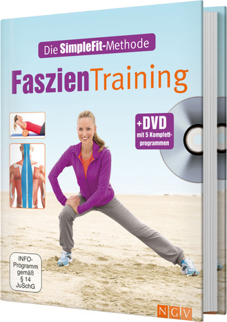 "Cover des Buches ""Die SimpleFit-Methode - Faszien-Training"""