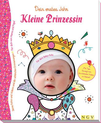 """Cover des Buches """"Kleine Prinzessin - Babyalbum für Mädchen"""""""