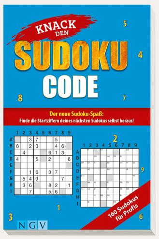 "Cover des Buches ""Knack den Sudoku-Code - Für Profis"""