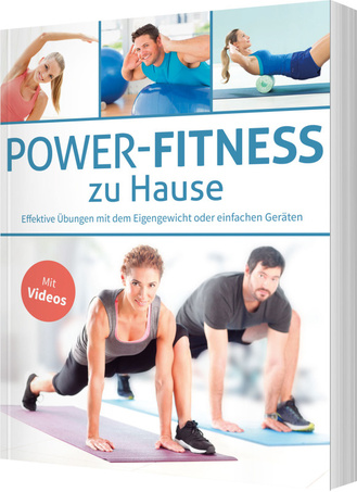 "Cover des Buches ""Power-Fitness zu Hause"""